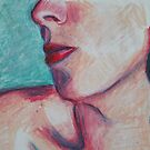 Oil Pastel Sketch by Mandy Kerr