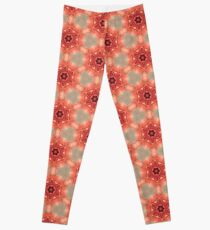Legging Vintage Floral Kaleidoscope Abstract