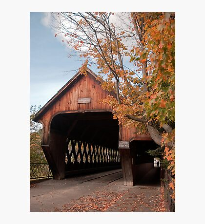 Woodstock Middle Bridge Photographic Print