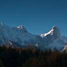 Stockhorn in Autumn by Mark Howells-Mead