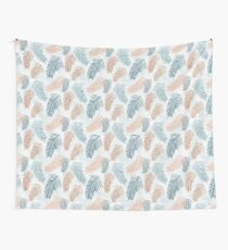 Tropical, feathery leaves Wall Tapestry