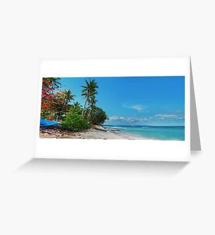Libaong: Tropical Utopia Greeting Card