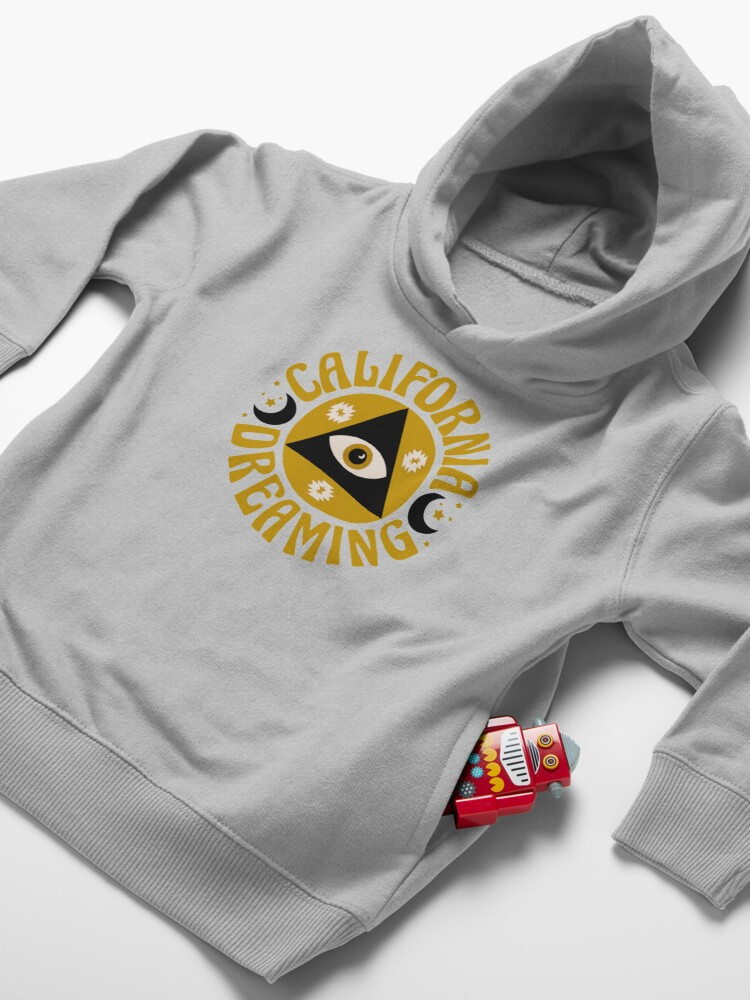 Alternate view of California Dreaming Toddler Pullover Hoodie
