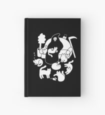 Death And His Cats Hardcover Journal