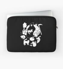 Death And His Cats Laptop Sleeve