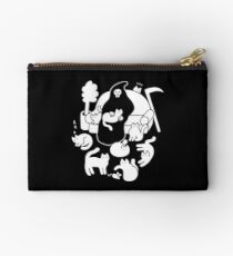 Death And His Cats Zipper Pouch
