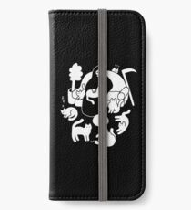 Death And His Cats iPhone Wallet/Case/Skin