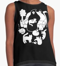 Death And His Cats Sleeveless Top