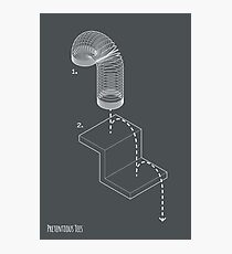 Exploded View Slinky T-Shirt Photographic Print