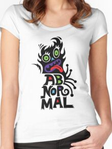 Abnormal Women's Fitted Scoop T-Shirt