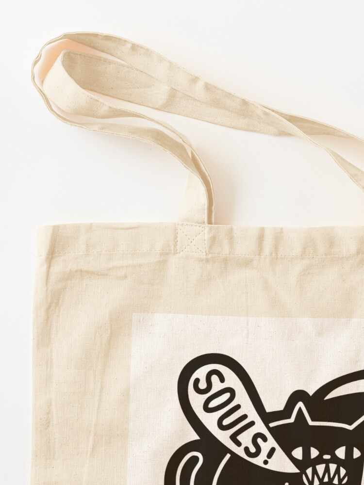 Alternate view of Cat Got Your Soul? Tote Bag