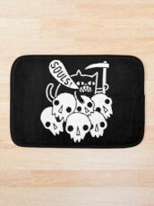 Cat Got Your Soul? Bath Mat