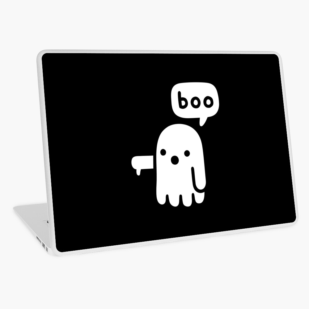 Ghost Of Disapproval Laptop Skin