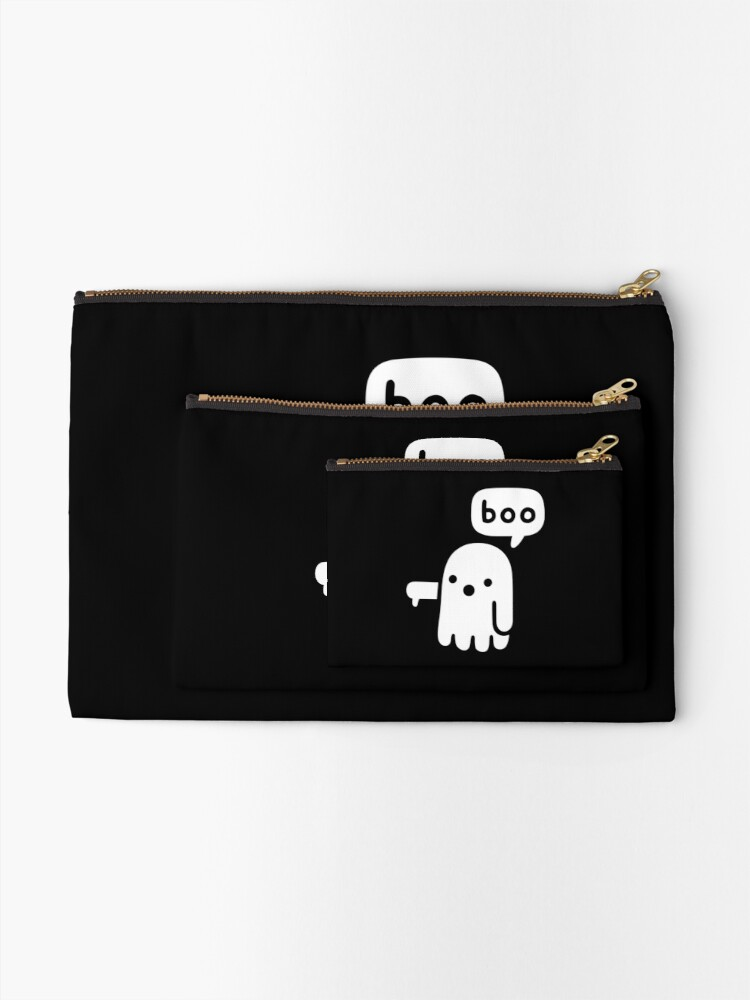 Alternate view of Ghost Of Disapproval Zipper Pouch