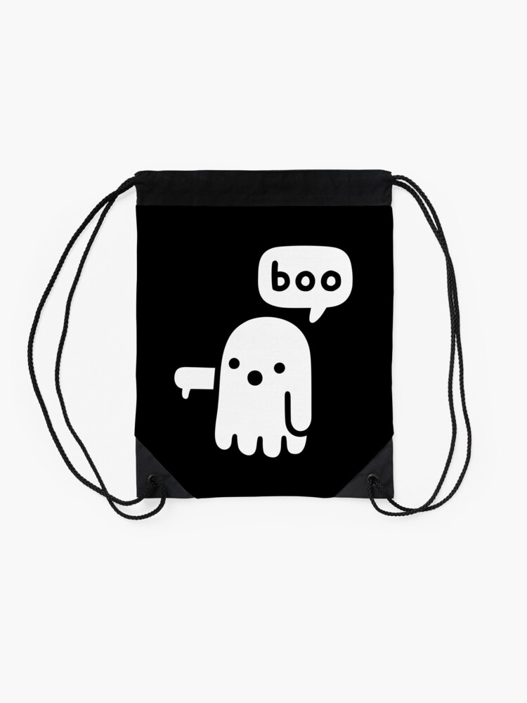 Alternate view of Ghost Of Disapproval Drawstring Bag