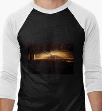 Light Painting #3 Men's Baseball ¾ T-Shirt