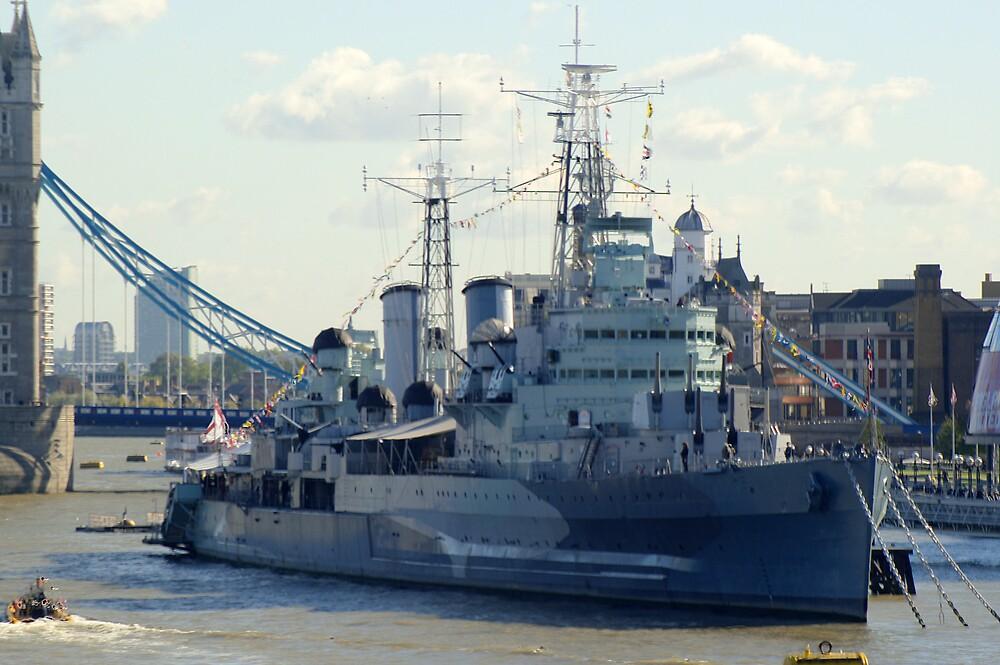 HMS Belfast 7 by Chris Day