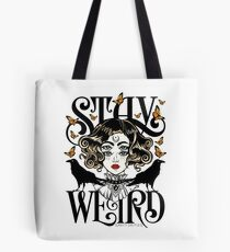 Bolsa de tela Rose and The Ravens {Stay Weird} Versión en color