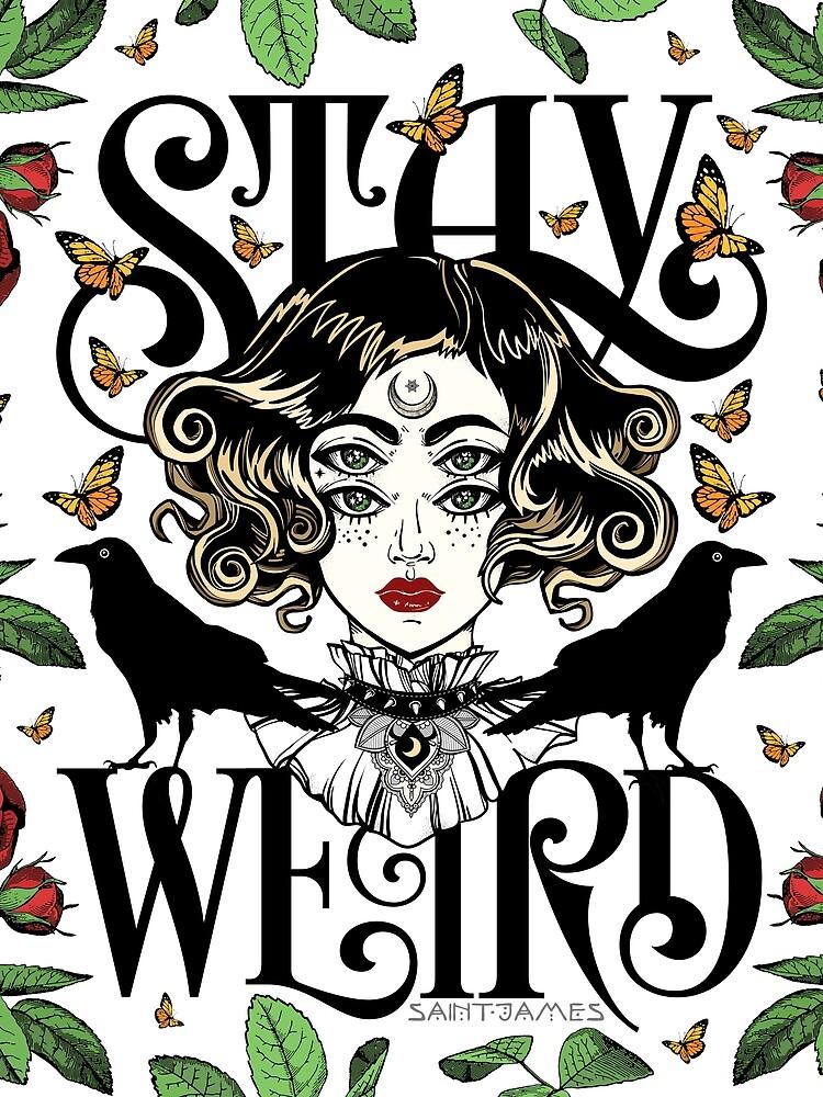 Rose und die Ravens {Bleib Weird} Color Version von wolfandbird