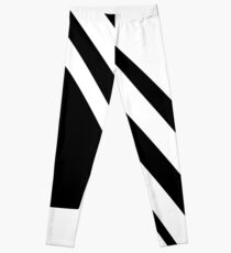White and Black Dazzle Leggings