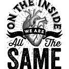 «Por dentro todos somos iguales.» de wolfandbird