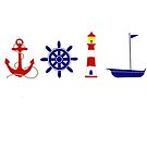 Nautical Illustration  by ArtByMichelleT