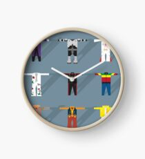 Iconic Musician Outfits Clock