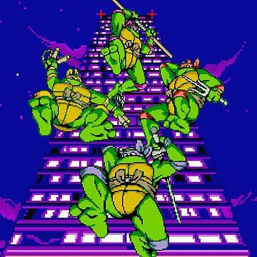 Teenage Mutant Ninja Turtles by tjyelds