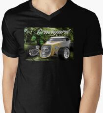 graveyard shift Mens V-Neck T-Shirt