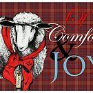 """""""Ewe"""" Tidings of Comfort & Joy by Carrie Jackson"""