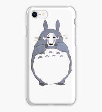 No Face Totoro iPhone Case/Skin