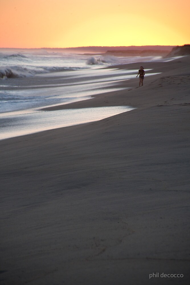 Beach Walk by phil decocco