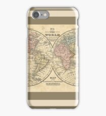 Old World Map iPhone Case/Skin