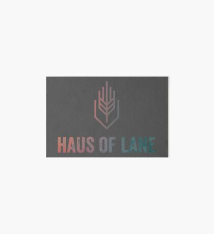 Haus of Lane SHADOW Collection LOGO Art Board Print