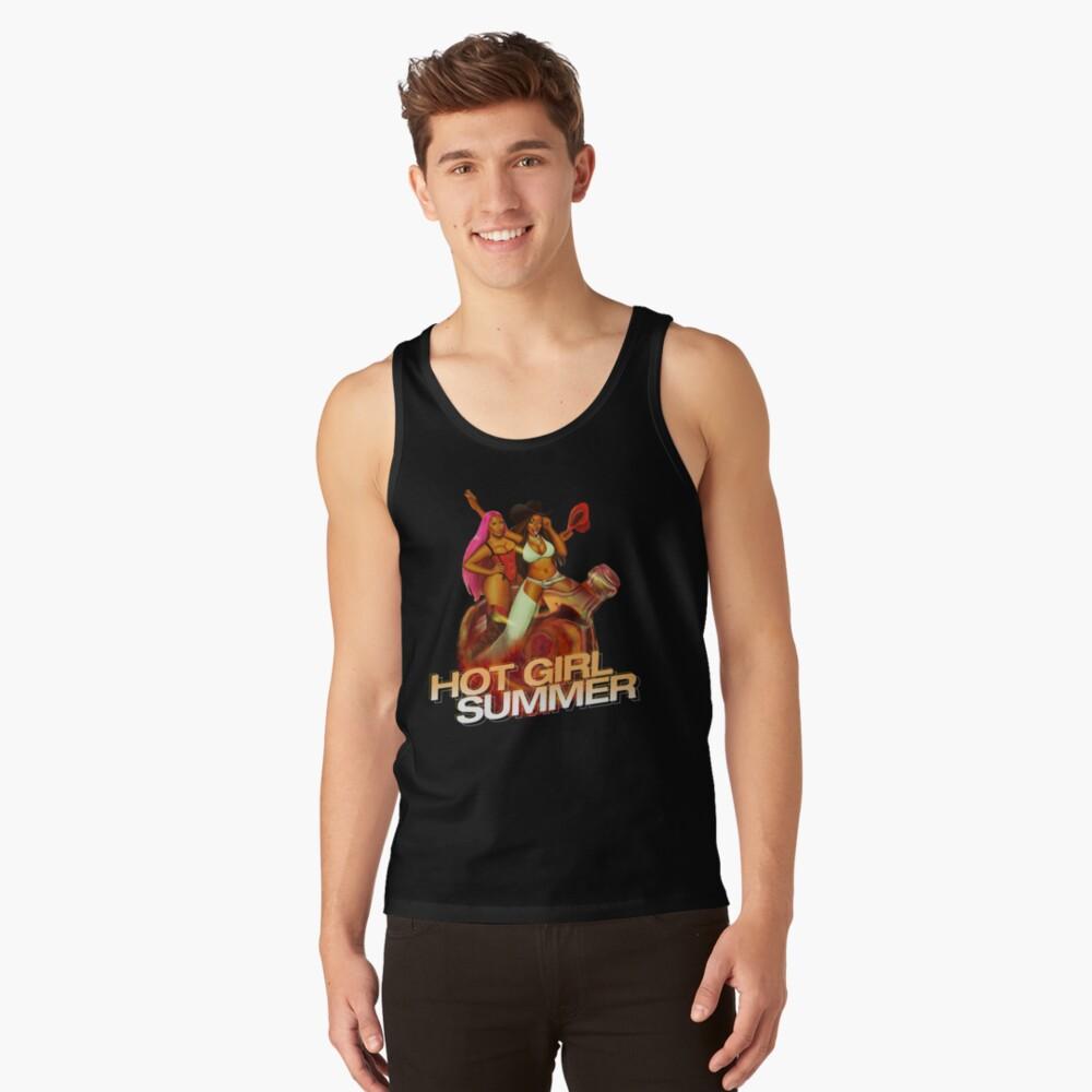 Mens Megan thee stallion shirt, megan thee stallion tshirt, nicki, megan stallion fan art & gear  Gift birthday tank top t shirt