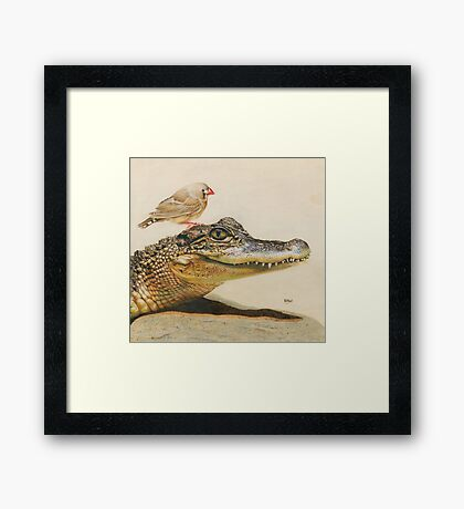 The Intrepid Friendship Framed Print