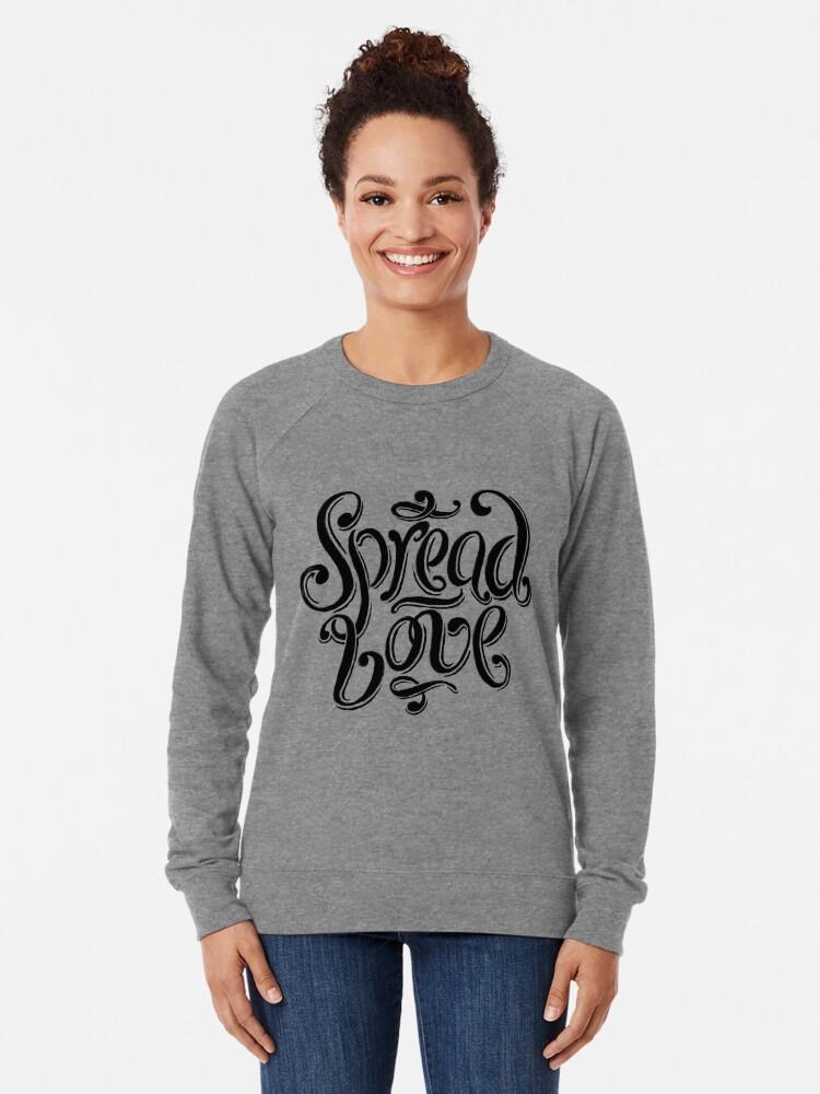 Alternate view of Spread Love Lightweight Sweatshirt