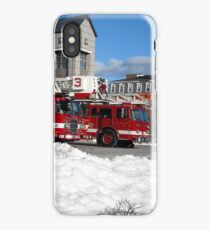 Tower Ladder 3 and Ladder Truck 2, FFD Fitchburg MA iPhone Case/Skin