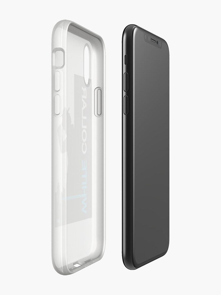 Alternate view of White Collar iPhone Case & Cover