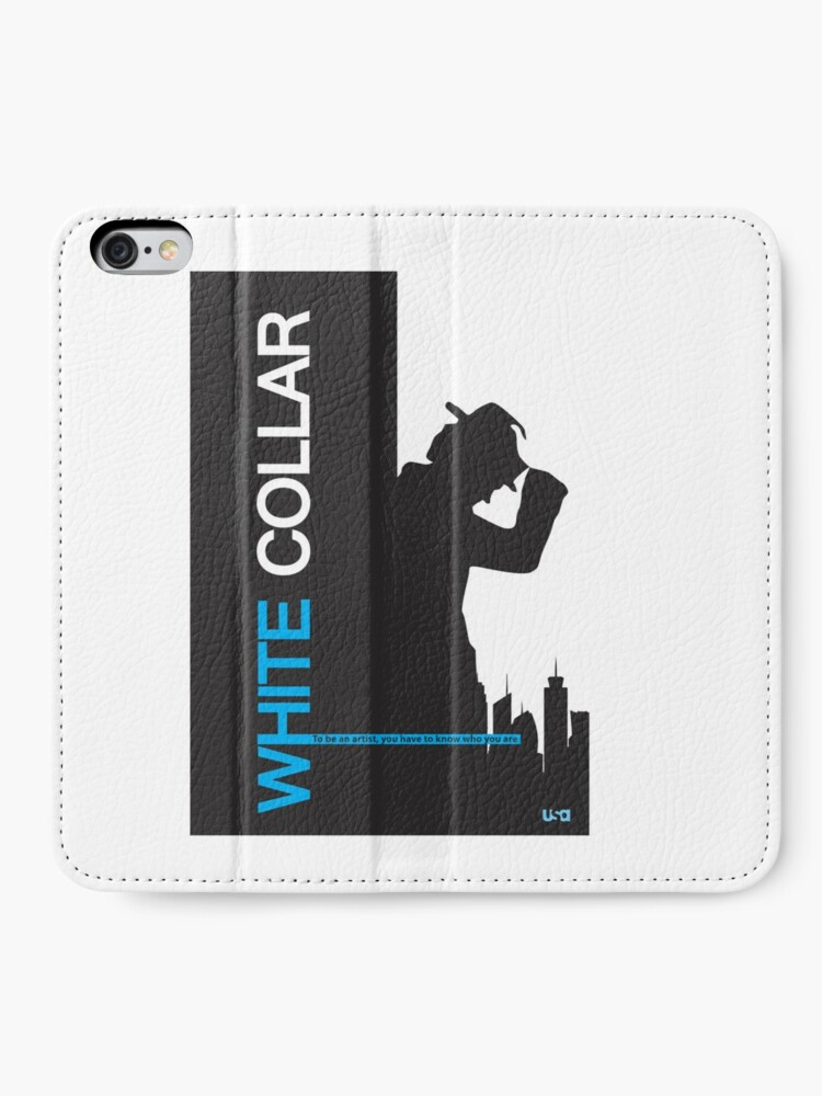Alternate view of White Collar iPhone Wallet
