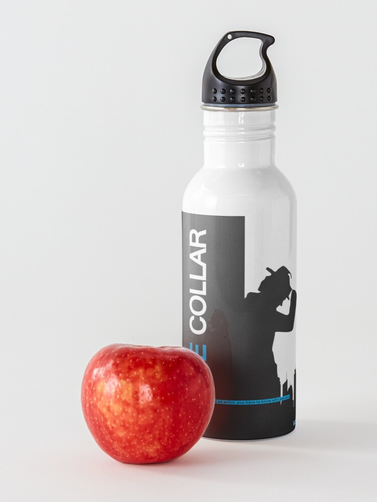 Alternate view of White Collar Water Bottle