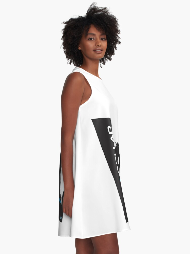 Alternate view of White Collar A-Line Dress