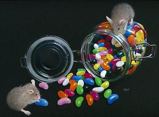 Full o' Beans by Karen  Hull