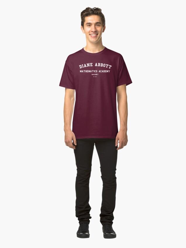 Alternate view of DIANE ABBOTT MATHEMATICS ACADEMY Classic T-Shirt