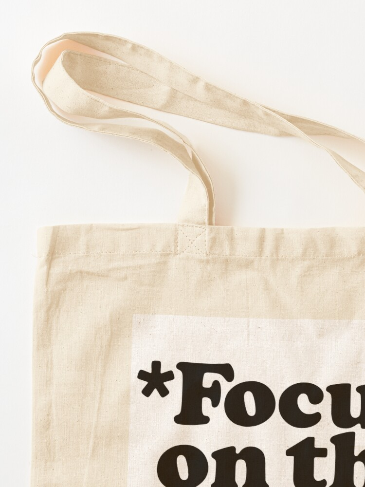 Alternate view of Focus On The Good Stuff {Pink & Red Version} Tote Bag