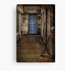 A closed door ... Canvas Print