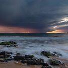 Rain and a Sunset by robcaddy