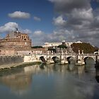 Sant'Angelo Castle and Bridge by annalisa bianchetti