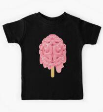 Popsicle brain melting Kids Tee