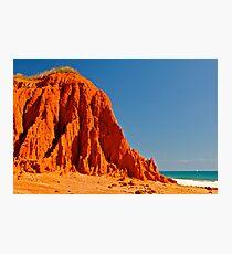 Red Rock  James Price Photographic Print
